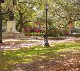 Elbert Square in Savannah GA