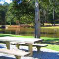 Picnic and Lake at A. H. Stephens Park