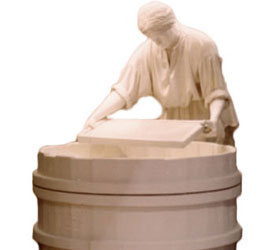 American Museum of Paper Making Statue