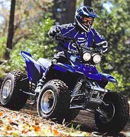 ATV Driver in Georgia Forest