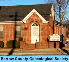 Bartow County Genealogical Society Building