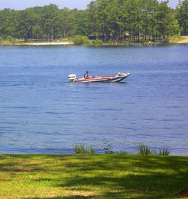 Boating at Lake Seminole