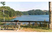 Bolding Mill Park Campground at Lake