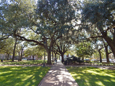 Calhoun Square in Savannah GA