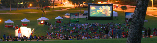 Chastain Park Outdoor Movies