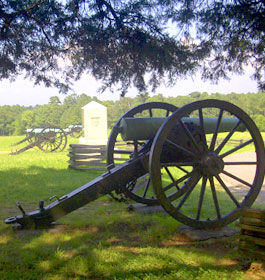 Canyons and Monuments at Chickamaugua Battlefield