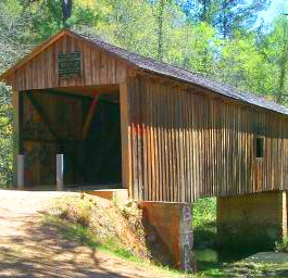 Coheelee Creek Covered Bridge