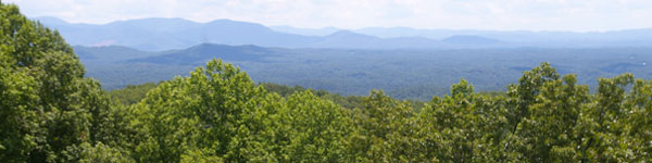 Cohutta Wilderness Mountain Scenery