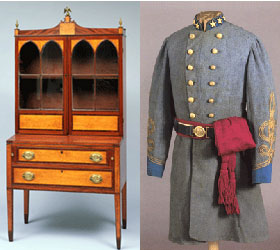 Historic displays at Columbus Museum of Art