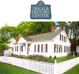 Dekalb History Center Historical House