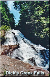 Dick's Creek Falls