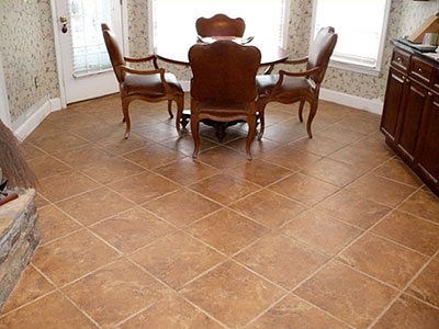 Diningroomfloorslate020snipshot room design inspiration for Dining room tile designs