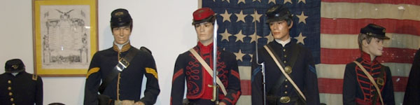Drummer Boy Museum Display