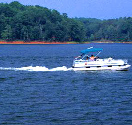 Boating At Lake At Elijah Clark State Park