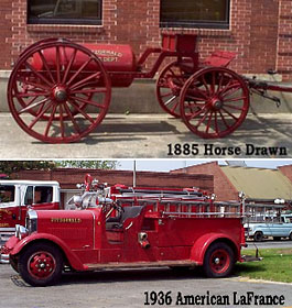 Fitzgerald Antique Fire Engines Museum