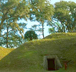Historic Mounds at Fort McAllister Historic State Park