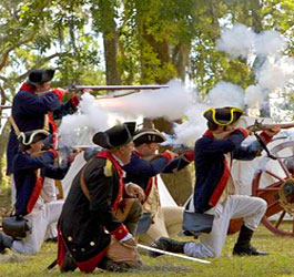Revolutionary War Reenactment at Fort McAllister Historic State Park