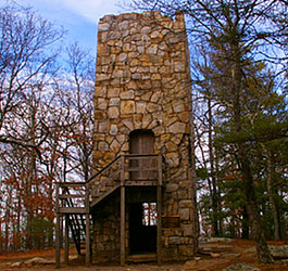 Old Tower at Ft Mountain State Park