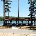 Lake Picnic Area at Fort Yargo State Park
