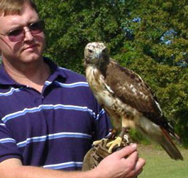 Falcon Show at George T Bagby State Park