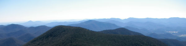 Georgia Wildlife Areas in Mountains