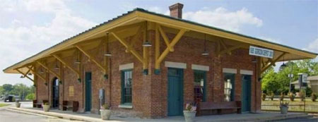 Gordon Depot building outside