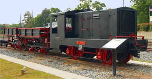 Gordon Depot Railroad Museum Train