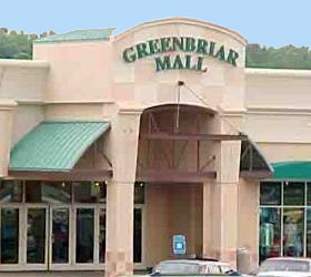 Greenbriar Mall Entrance