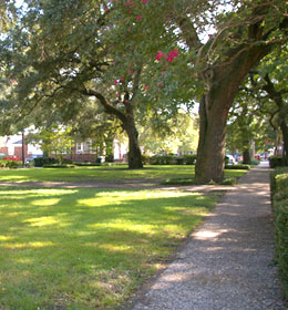 Greene Square in Savannah Georgia
