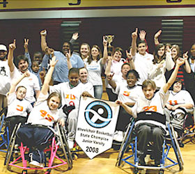 Wheelchair Sports at Henry County Parks