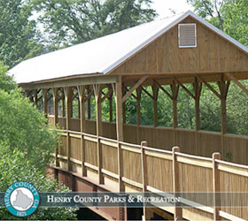 Heritage Park Covered Bridge