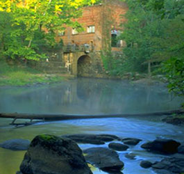 Historic Ruins at High Falls State Park