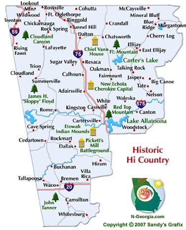 Historic High Country Travel Region