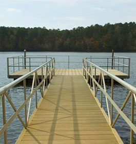 Indian Springs State Park dock
