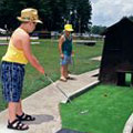 Miniature Golf at James H Sloppy Floyd State Park