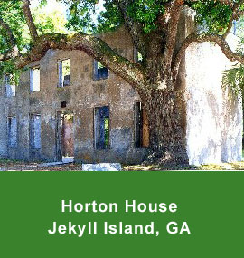 The Horton House in Jekyll Island GA