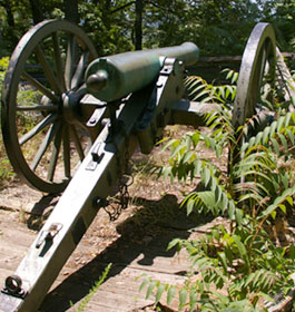 Civil War Cannon at Kennesaw Mountain