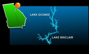 Lake Oconee and Lake Sinclair