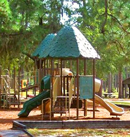 Playground at Laura S Walker State Park