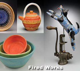 Fired Works Exhibit at Macon Arts Gallery