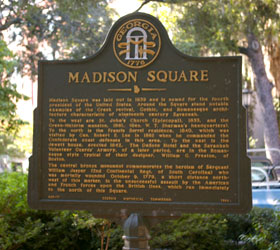 Madison Square Marker