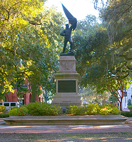 Madison Square in Savannah Georgia