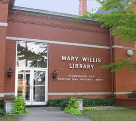 Mary Willis Library Entrance