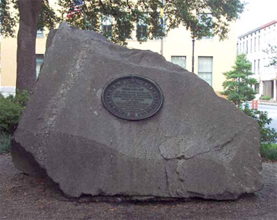 Memorial to Tomochichi