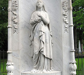 Memory Hill Cemetery Grave Monument