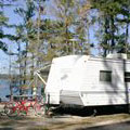 RV camping at Mistletoe State Park