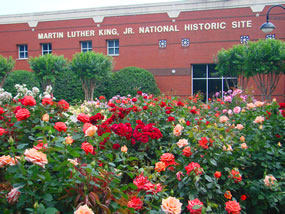 Martin Luther King Jr. Historic Site Rose Garden