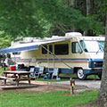 Camping at Moccasin Creek State Park