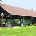 Pavilion at Moccasin Creek State Park