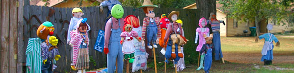 NE Georgia Mountains Scarecrows
